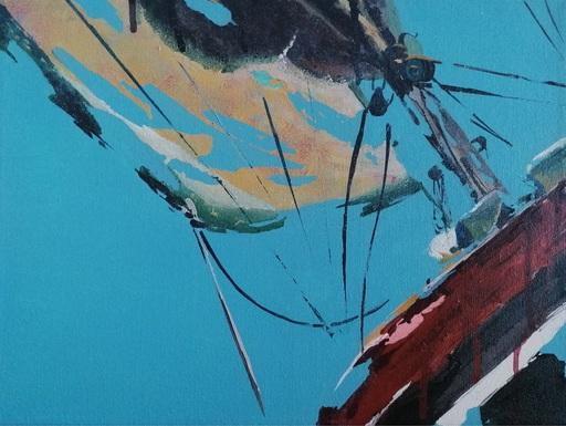 Diana KIROVA - Painting - Fly VIII