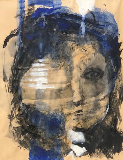 Yvon GRAC - Zeichnung Aquarell - SONGE