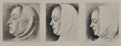 Lyudmyla RAZBITSKAYA - Drawing-Watercolor - Portrait    (Cat N° 5402)