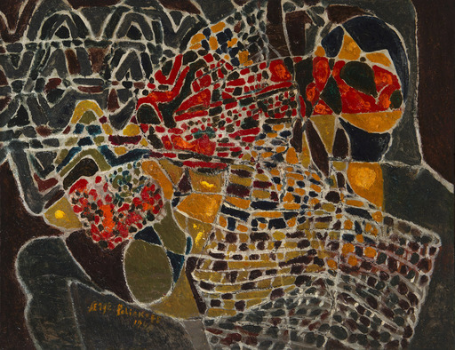 塞尔日•波利雅科夫 - 绘画 - Composition abstraite
