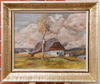 Ota BUBENICEK - Pintura - Chalets in the country