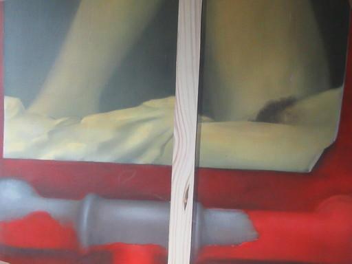 Joao NASCIMENTO - Painting - Nu