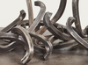 Bernar VENET - Sculpture-Volume - Random combination of indeterminate lines