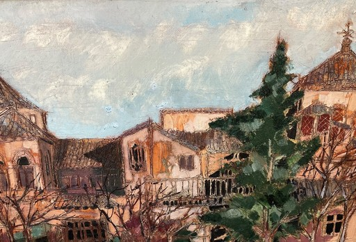 Michel DE ALVIS - Gemälde - Tolède