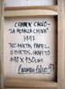 Carmen CALVO - Painting - La muralla china