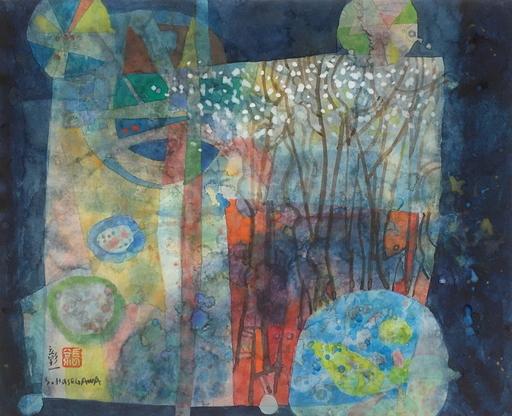 Shoichi HASEGAWA - Drawing-Watercolor - Dans le miroir