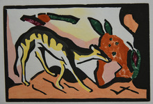 Franz MARC - Print-Multiple - Fabeltier