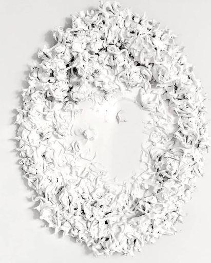 Flavio Tiberio PETRICCA - 绘画 - White tactile frame