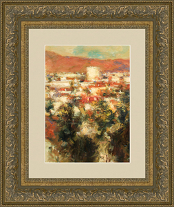 Levan URUSHADZE - Peinture - Red mountain
