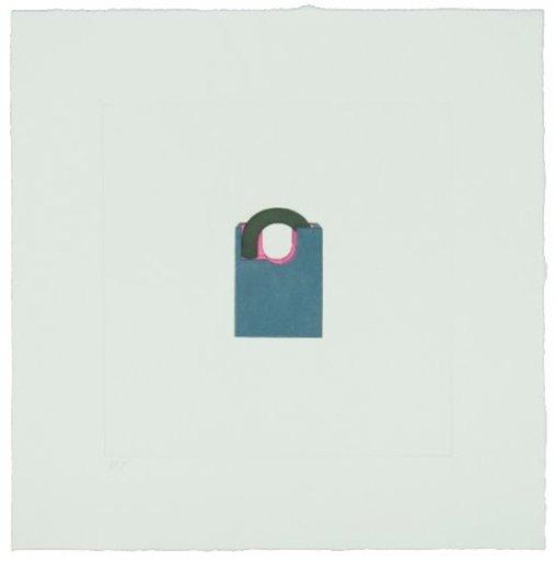 Michael CRAIG-MARTIN - Print-Multiple - The Catalan Suite II - Padlock