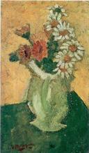 Georges BRAQUE - Peinture - Les Marguerites II