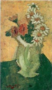 Georges BRAQUE - Painting - Les Marguerites II
