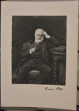 Victor HUGO - Print-Multiple - Portait de Victor Hugo