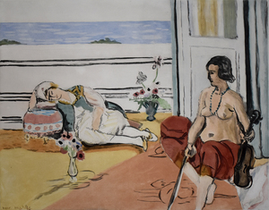 Henri MATISSE - Print-Multiple - Odalisque on the Terrace | Odalisque sur la Terrasse