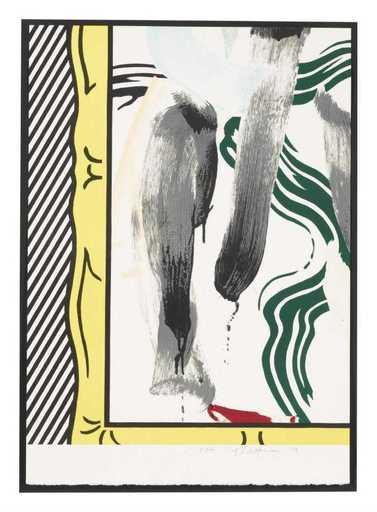 Roy LICHTENSTEIN - Print-Multiple - Against apartheid