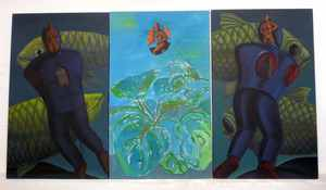 Edgar TEZAK-NEOGY - Pintura - Heart and Head