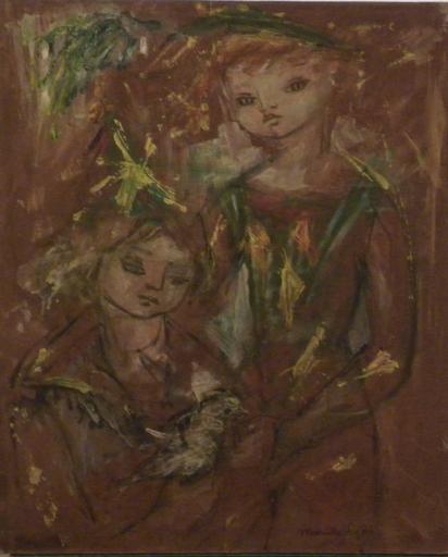 Mariette LYDIS - Gemälde - 1er sentiment nº3