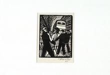Conrad FELIXMÜLLER - Grabado - Strasse II