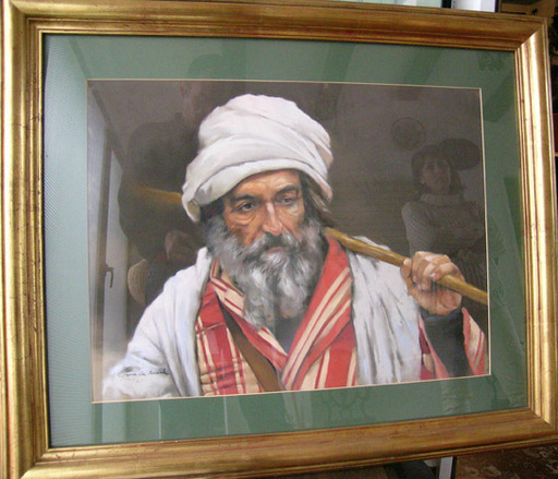 Germán ARACIL - Pintura - Retrato de moro
