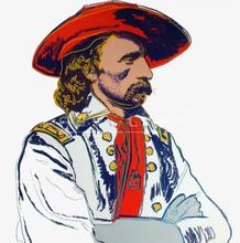 安迪·沃霍尔 - 版画 - General Custer (FS II.377)
