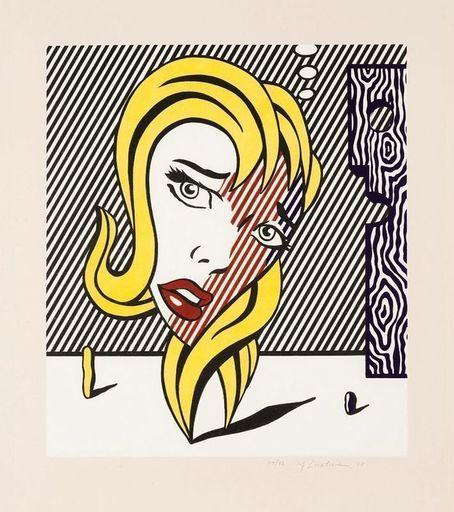 Roy LICHTENSTEIN - Print-Multiple - Blonde (Surrealist Series)
