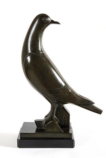 Gustave MIKLOS - Sculpture-Volume - Pigeon