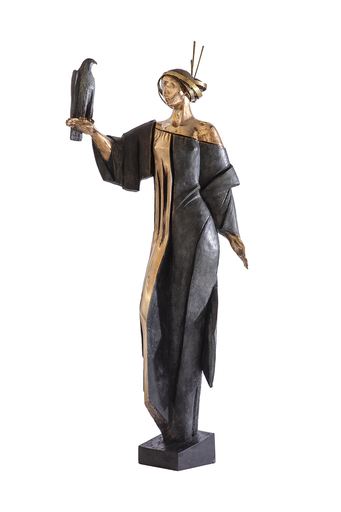 Albert AVETISSIAN - Escultura - LE FAUCONNIER