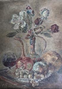 Vselvolod SUDZILOVSKY - Peinture - Stilleben