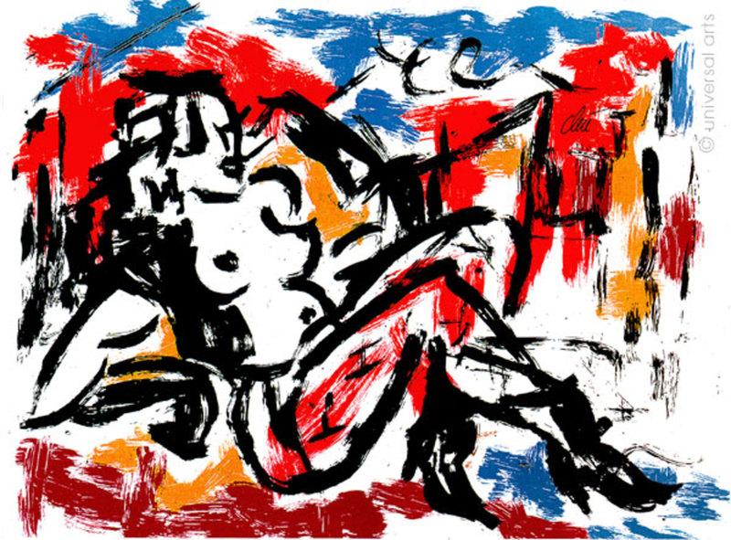 Jacqueline DITT - Estampe-Multiple - Die Sünde (The Sin) 1/1 Originalgrafik