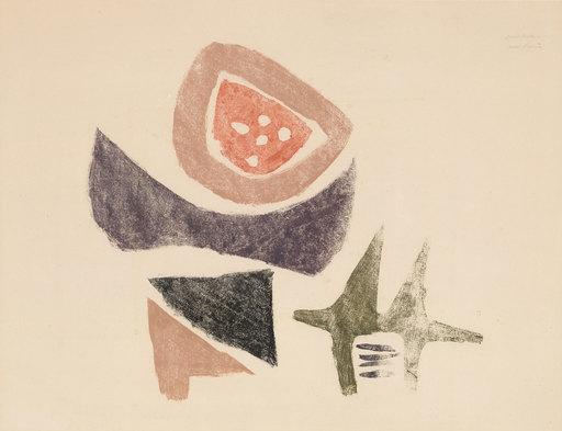 Julius Heinrich BISSIER - Drawing-Watercolor - Ohne Titel
