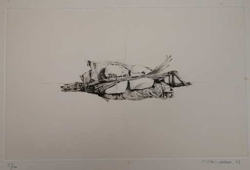 Gérard TITUS-CARMEL - Druckgrafik-Multiple - Ligatures