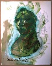 Bernard MOREL - Pintura - AUTOPORTRAIT