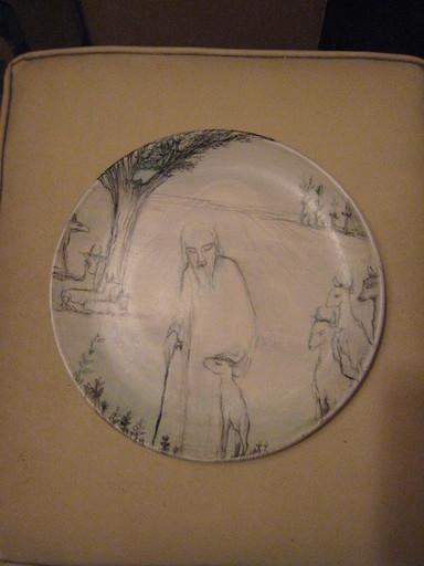 Anton PRINNER - Ceramic - LE BREBIS PERDU