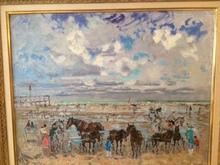 André HAMBOURG - Pittura - Port d'Honfleur