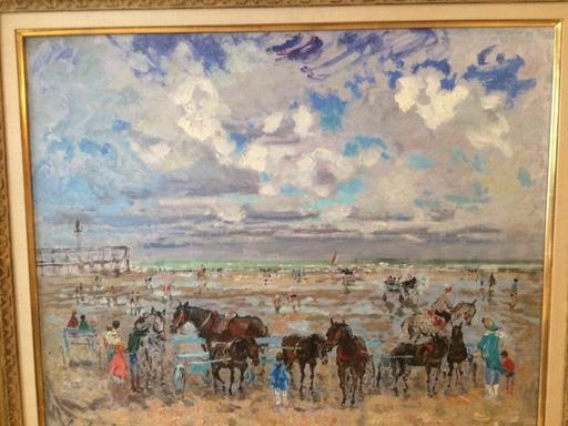 André HAMBOURG - Pintura - Port d'Honfleur