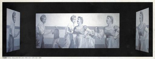 Gian Marco MONTESANO - Painting - Il Ballo