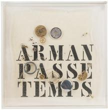 阿尔曼 - 雕塑 - Passe Temps