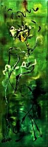 NADIA - Peinture - Air de geisha (Mme butterfly de Puccini)