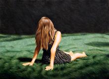 Erlend STEINER LOVISA - Painting - Amanda    (Cat N° 4023)