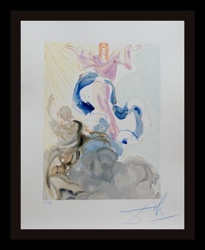 Salvador DALI - Grabado - Divine Comedy Heaven Canto 23