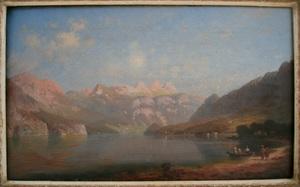 Paul HEITINGER - Painting - Seelandschaft