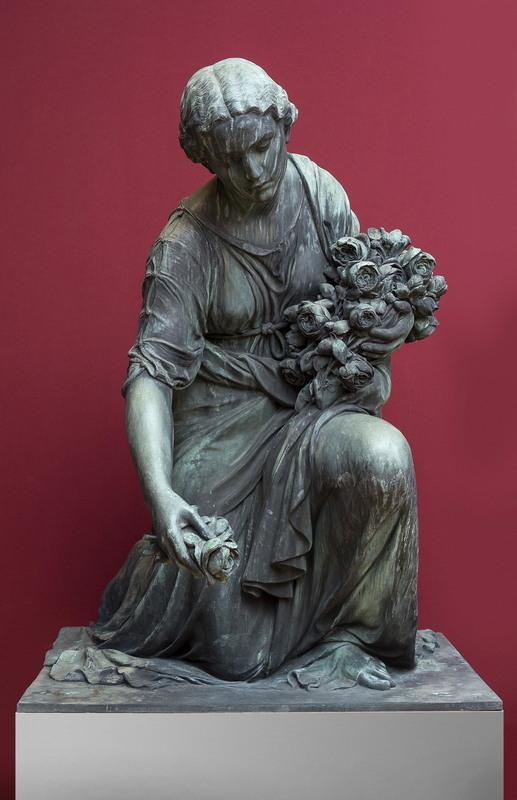 Heinrich WADERE - Escultura - Rosenstreuende