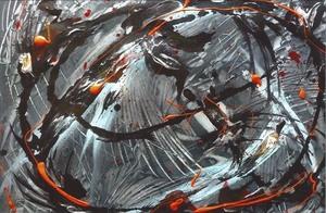 Didier ANGELS - Pintura - Merci, tout va bien