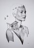 David BAYO - Dessin-Aquarelle - 'Astrée'