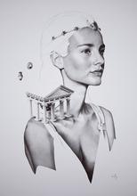 David BAYO - Dibujo Acuarela - 'Astrée'