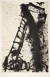 Emil SCHUMACHER - Stampa-Multiplo - 3/1990