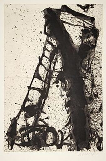 Emil SCHUMACHER - Estampe-Multiple - 3/1990