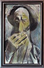 Eren EYÜBOGLU - Painting - Old Man