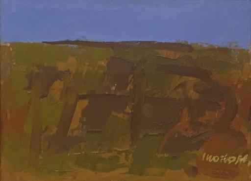 Ennio MORLOTTI - Painting - Rocce