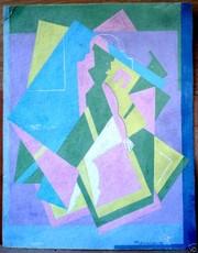 Mikhail LARIONOV - Drawing-Watercolor - Cubist costume design